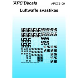 Luftwaffe svastikas - 1/72 decal
