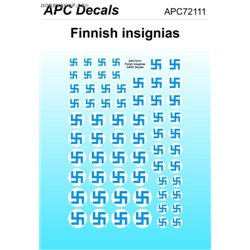 Finnish insignias - 1/72 decal
