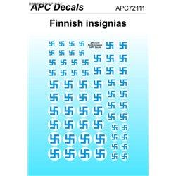 Finské znaky - 1/72 obtisk