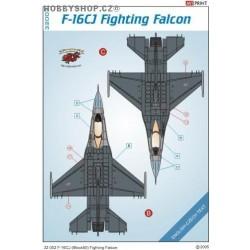 F-16CJ - 1/32 decals