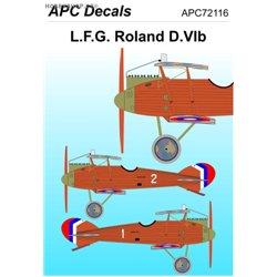 Roland D.VIb - 1/72 decal