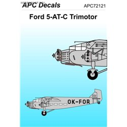 Ford 5AT Trimotor - 1/72 obtisk