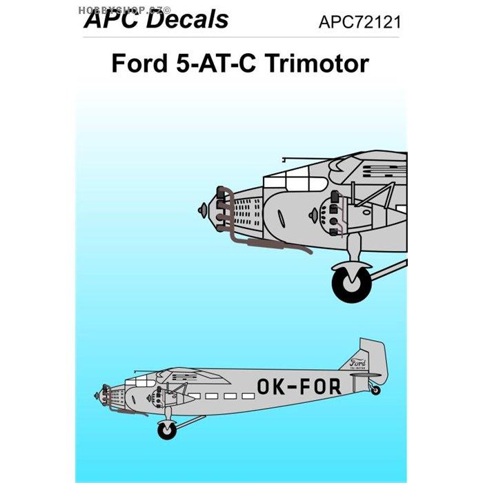 Ford 5AT Trimotor - 1/72 obtisk