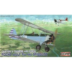 Focke-Wulf Fw 44J Chinese A.F. - 1/72 kit