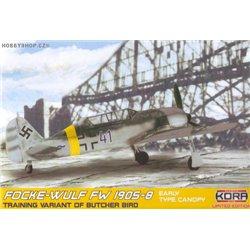 Focke-Wulf Fw 190S-8 Early - 1/72 kit
