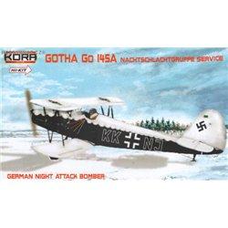 Gotha Go 145A Nachtschlachtgruppe - 1/72 kit