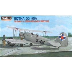 Gotha Go 145A Czecho-Slovak s. - 1/72 kit