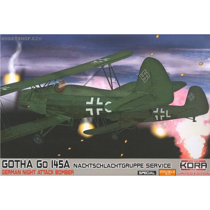Gotha Go 145A Nacht. Special Double - 1/72 kit