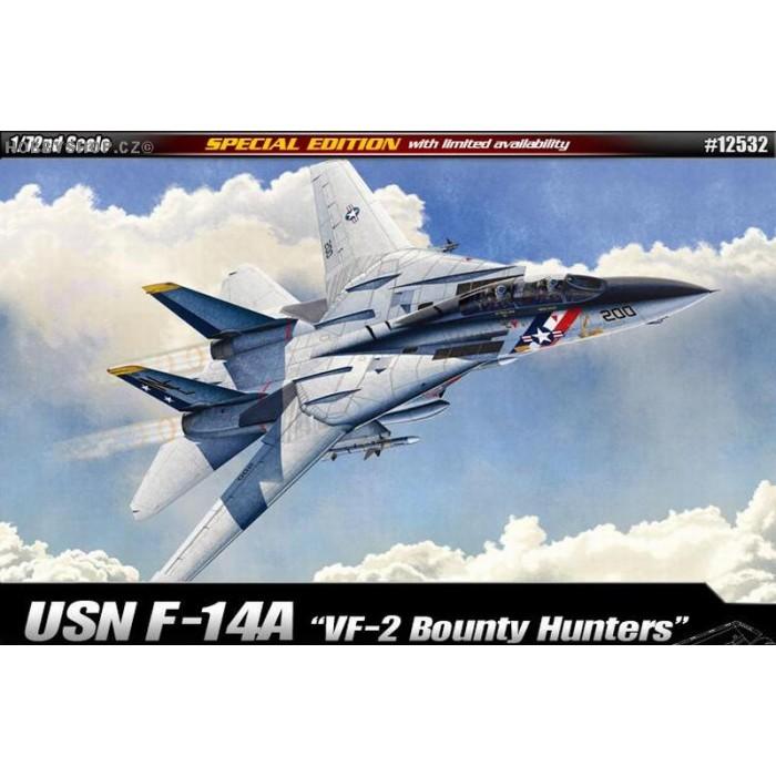USN F-14A VF-2 Bounty Hunters - 1/72 kit