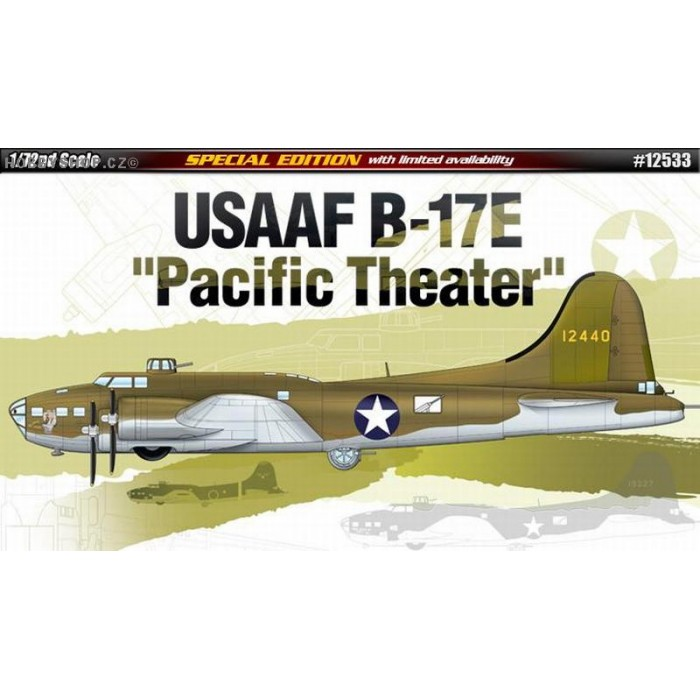 USAAF B-17E Pacific Theater - 1/72 kit