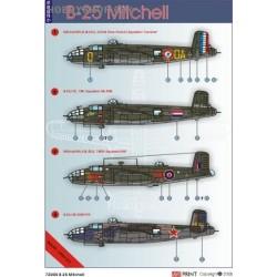 B-25 - 1/72 decals