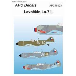 Lavochkin La-7 I. - 1/48 decal