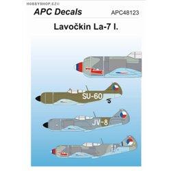 Lavočkin La-7 I. - 1/48 obtisk