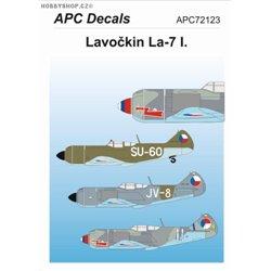 Lavochkin La-7 I. - 1/72 decal