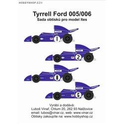 Tyrrell Ford 005/006 obtisky