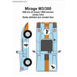 Mirage M3/300 obtisky