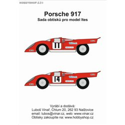 Porsche 917 č. 11/14 decals