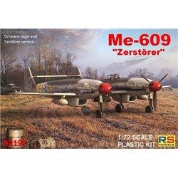 Me-609 Zerstörer - 1/72 kit