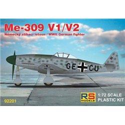 Messerschmitt Me 309V-1/V-2 - 1/72 kit