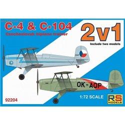 Aero C-4/C-104 Double kit - 1/72 kit