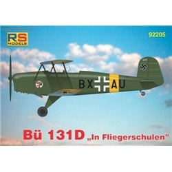 "Bücker 131 D ""In Fliegerschulen"" - 1/72 kit"