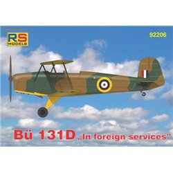 "Bücker 131 D ""In foreign services"" - 1/72 kit"