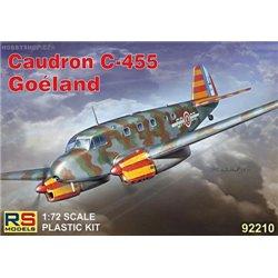 Caudron C-445 Goeland - 1/72 kit