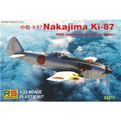 Nakajima Ki-87 - 1/72 kit