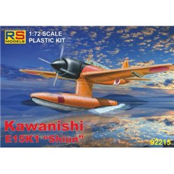 Kawanishi E15K1 - 1/72 kit