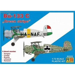 "Bücker 133C ""Green Stripe"" - 1/72 kit"