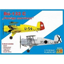 "Bücker 133C ""Foreign services"" - 1/72 kit"