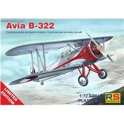Avia B-322 Limited - 1/72 kit
