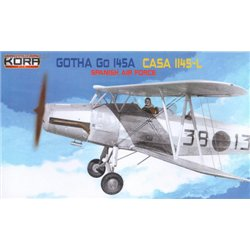 Gotha Go 145A Spanish AF - 1/72 kit