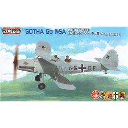 Gotha Go 145A Liaison & Courier service - 1/72 kit