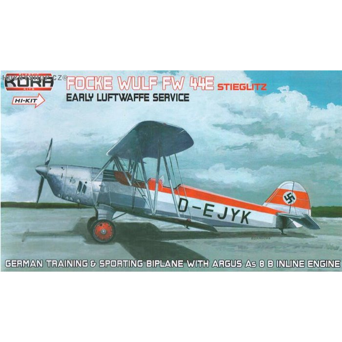 Focke-Wulf Fw 44E Early LWF service - 1/72 kit