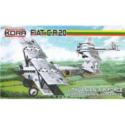 Fiat CR.20 Early Lithuanian service - 1/72 kit