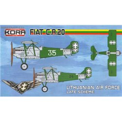 Fiat CR.20 Late Lithuanian service - 1/72 kit