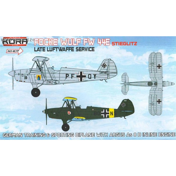 Focke-Wulf Fw 44E Late LWF service - 1/72 kit