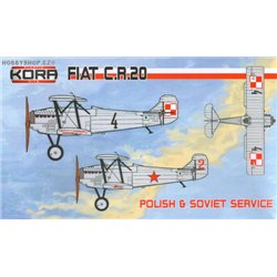 Fiat CR.20 Polish & Soviet service - 1/72 kit