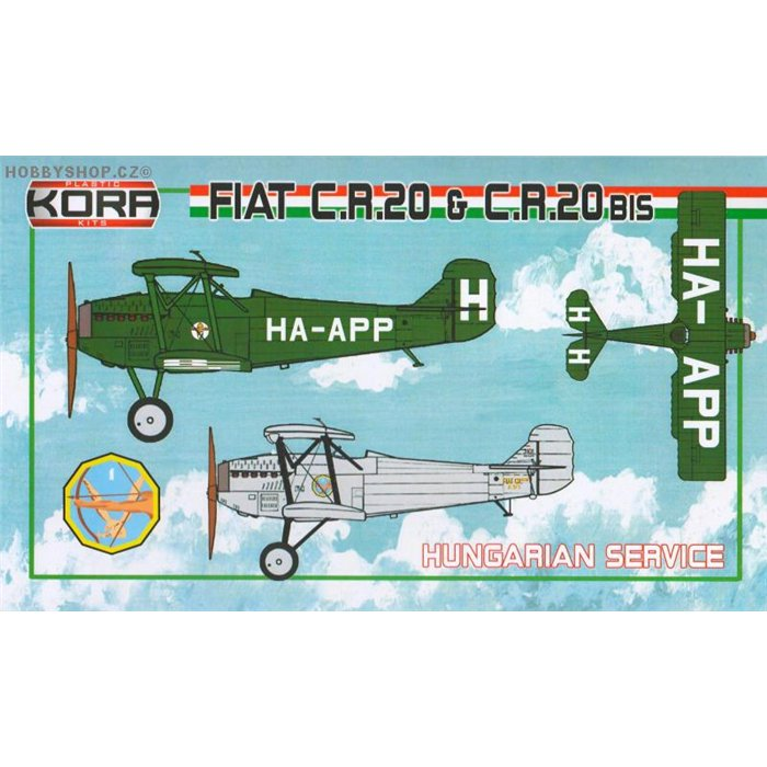 Fiat CR.20/CR.20bis Hungarian service - 1/72 kit