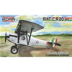 Fiat CR.20bis Italian service - 1/72 kit
