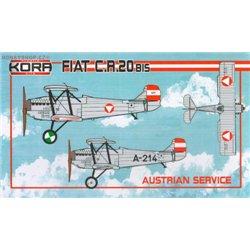 Fiat CR.20bis Austrian service - 1/72 kit