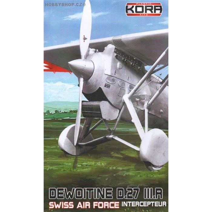 Dewoitine D.27 IIIR Swiss A.F. - 1/72 kit