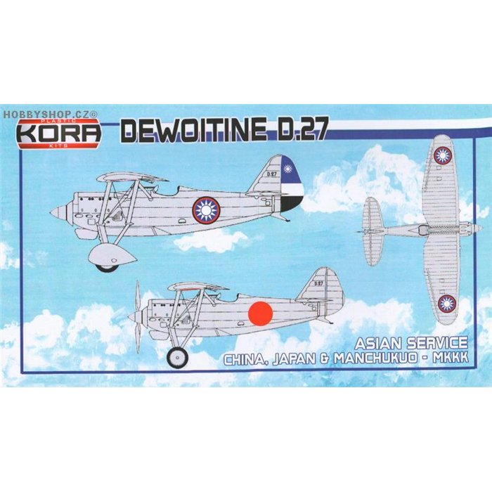 Dewoitine D.27 Asian Service - 1/72 kit