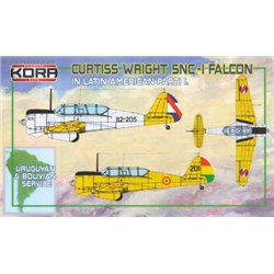 Curtiss-Wright SNC-1 Falcon In Latin America Pt. I. - 1/72 kit