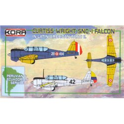 Curtiss-Wright SNC-1 Falcon In Latin America Pt. II. - 1/72 kit