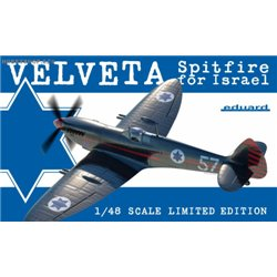 Velveta / Spitfire for Israel - 1/48 kit