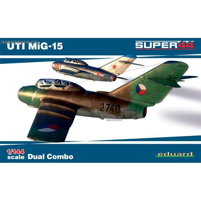 UTI MiG-15 Dual Combo - 1/144 kit