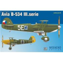 Avia B-534 III.serie - 1/48 kit