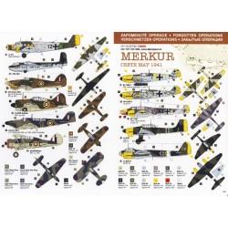 Operation Merkur - 1/72 decal